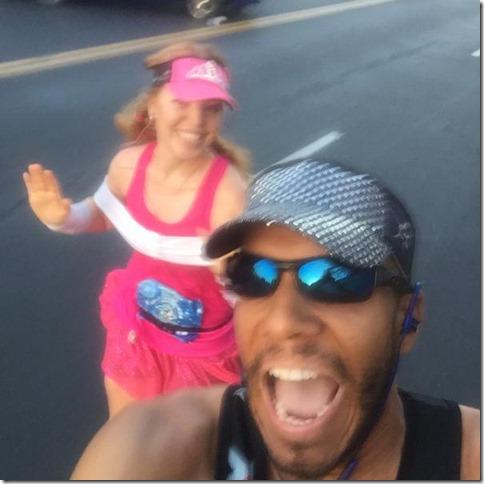 running disneyland half marathon with Sharp Endurance