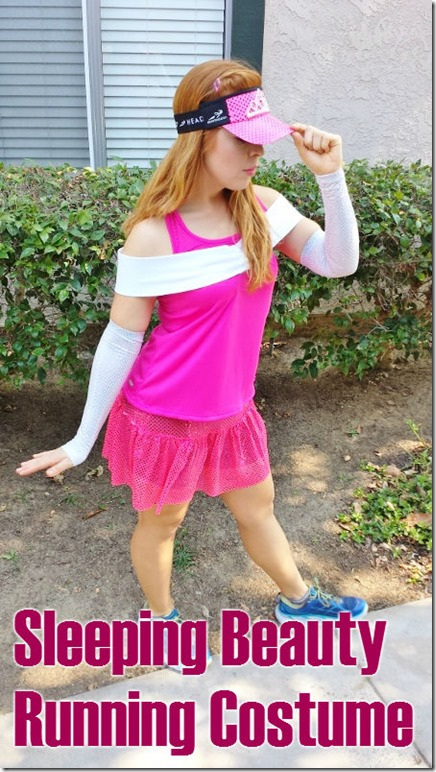 sleeping beauty running costume how to make