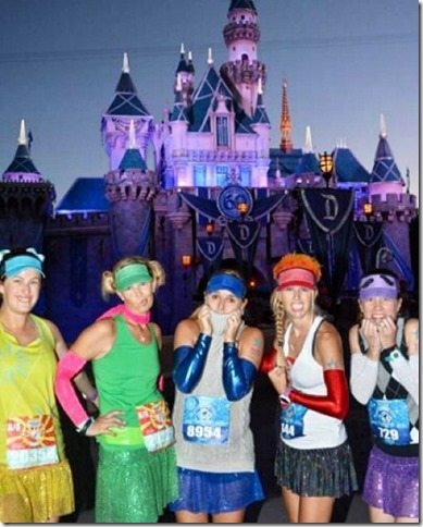 sparkle girls at disneyland half marathon (450x800)