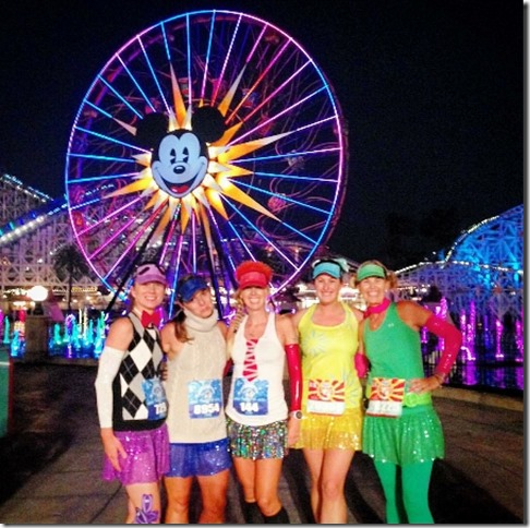 sparkle girls at disneyland half race (450x800)