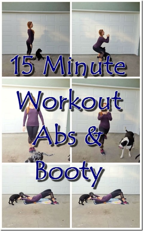 15 minute workout for abs and butt at home 1