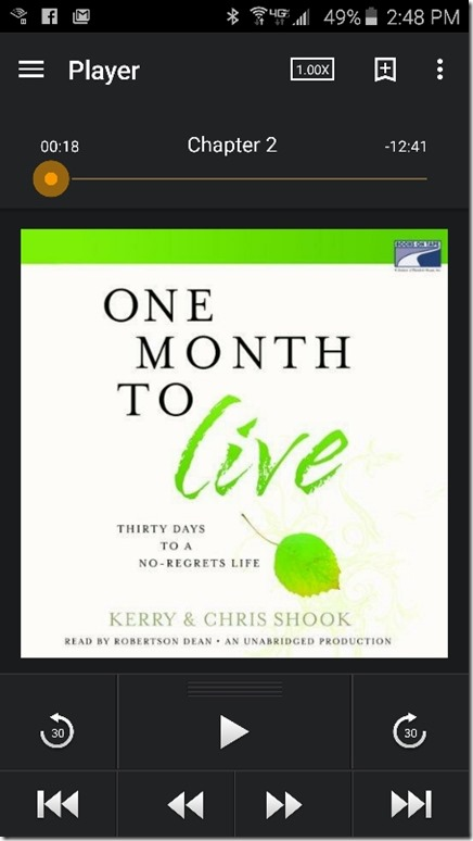 listened to one month to live (450x800)