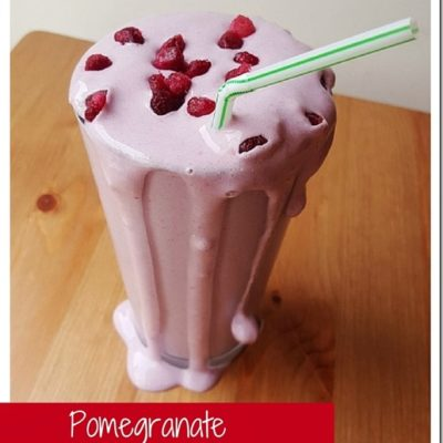 Pomegranate Protein Smoothie Recipe