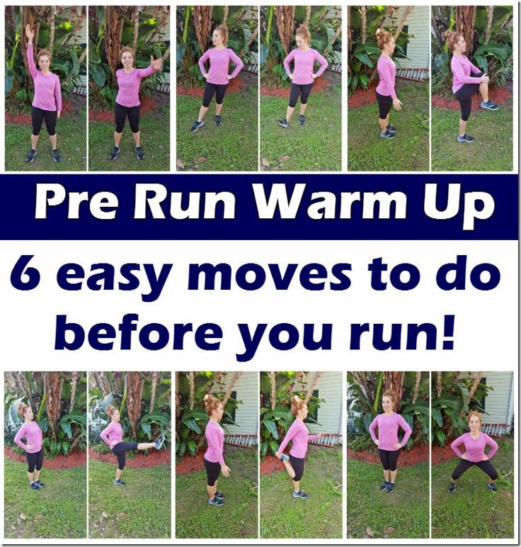easy pre run warm up blog