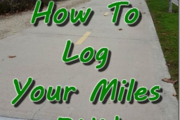 How To Keep Track Of Your Miles Run