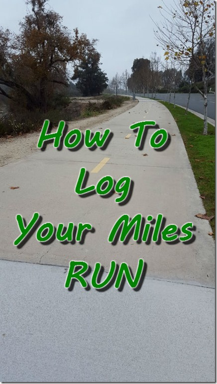 how to keep track of your miles run run eat repeat