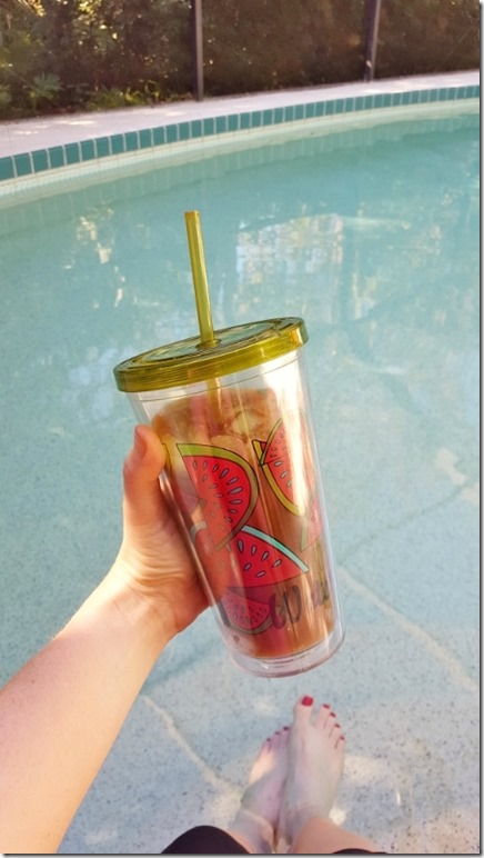 iced coffee addict by the pool (450x800)