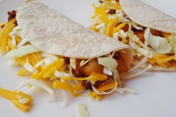 Vegetarian Chorizo and Potato Tacos Recipe
