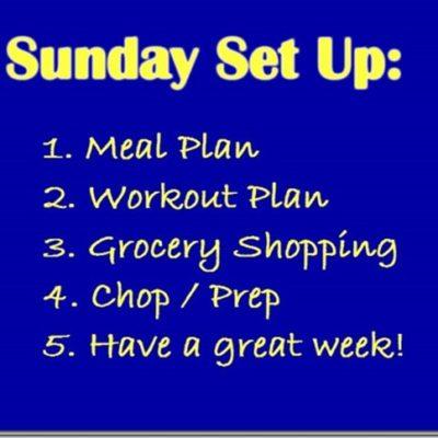 Sunday Set Up Fridge Tip