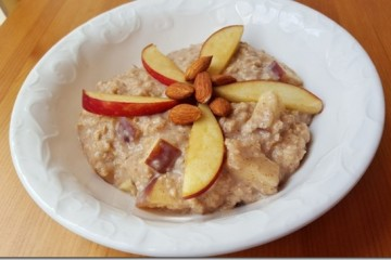 Creamy Apple Oatmeal Recipe