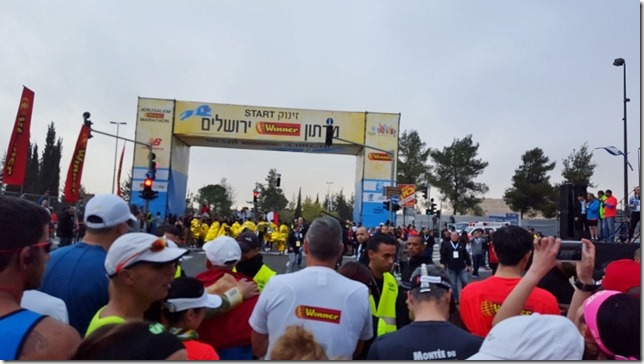 Jerusalem Marathon running blog