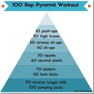 Pyramid Workout with My Roommate