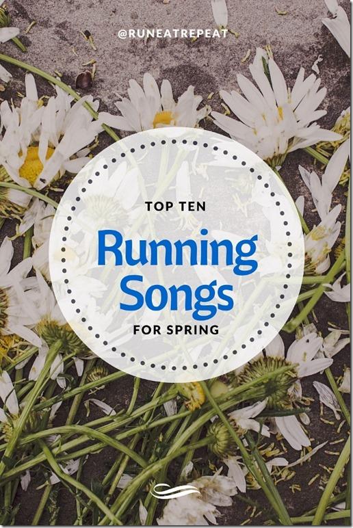 best running songs for spring