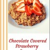 Chocolate Covered Strawberry Oatmeal
