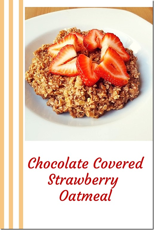 Chocolate Covered Strawberry Oats