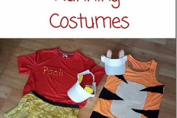 How to Make a Winnie the Pooh or Tigger Running Costume