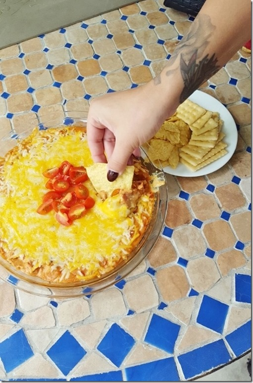 cheesy hummus dip recipe 16 (450x800)