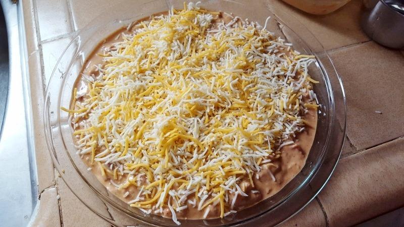 Easy Cheesy Hummus Dip Recipe - Run Eat Repeat
