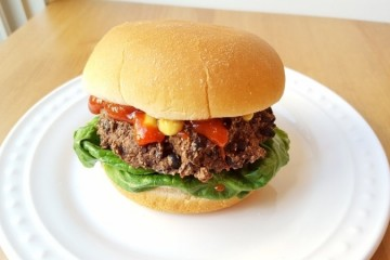 Easy Black Bean Burgers Recipe