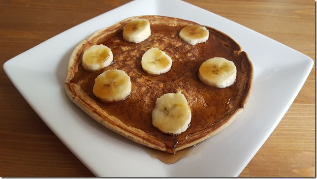 protein pancakes after run