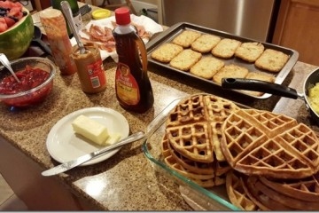 Homemade Brunch Except I'm Not At Home