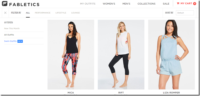 fabletics workout gear delivery
