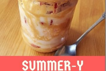 Summer-y Overnight Oats in a Jar