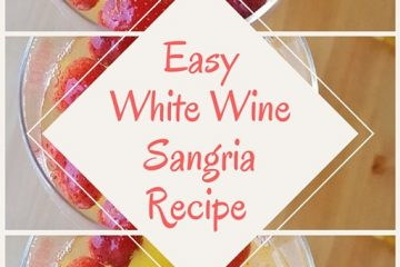 Super Easy White Sangria Recipe