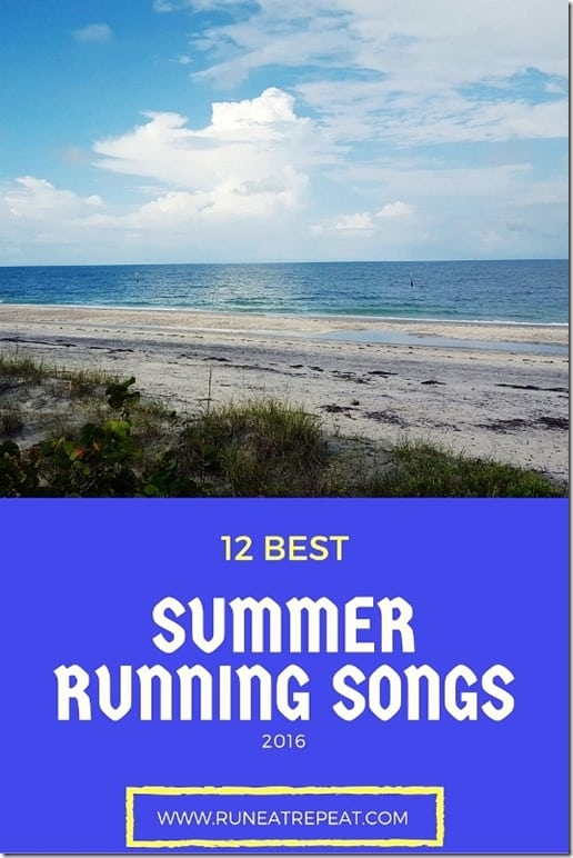 best summer running songs blog