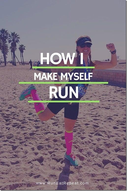 how i make myself run