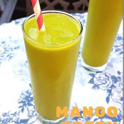 Easy Mango Green Smoothie