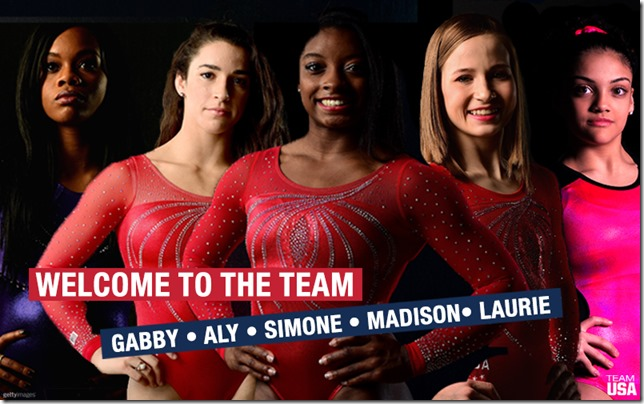 us womens gymnastic team 2016