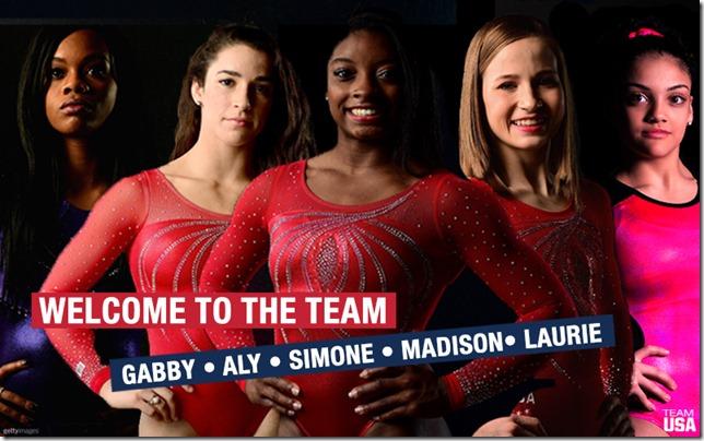 us womens gymnastic team 2016
