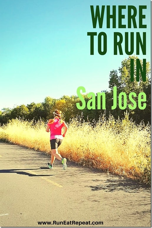where to run in san jose