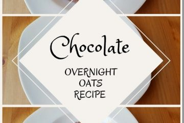 Chocolate Overnight Oats & CocoaVia GIVEAWAY