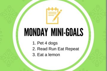 Contest Winners and Monday Mini-Goals