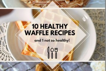 10 Healthy Waffle Recipes for #NationalWaffleDay
