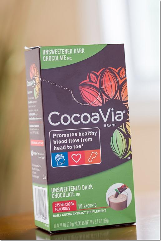 cocoavia dark choc