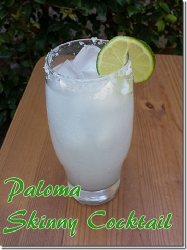paloma skinny cocktail