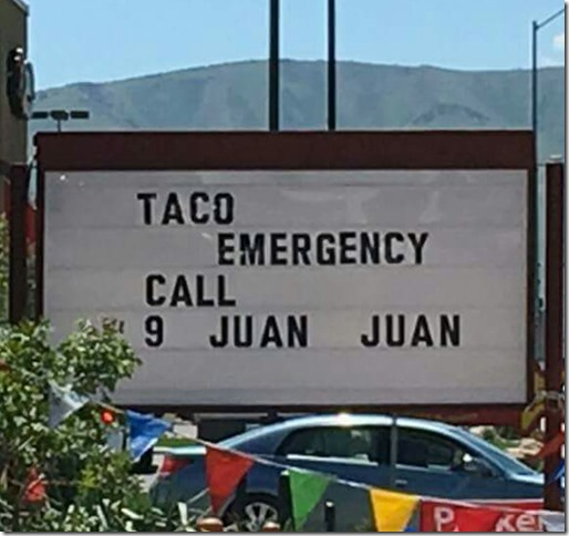 taco tuesday emergency