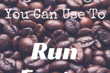 Legal things you can take and do to run faster...