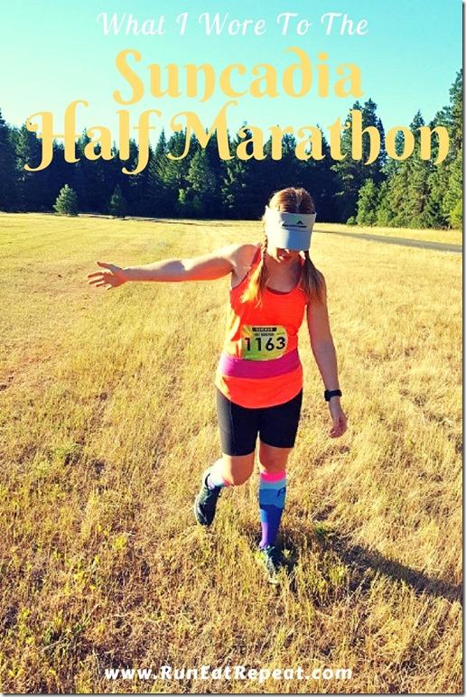 what i wore to half marathon