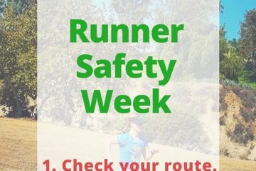 Running Safe - Check Your Route