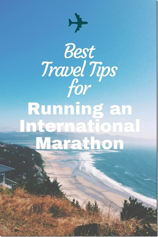 best marathon travel tips