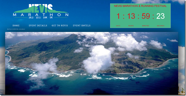 nevis marathon and half marathon