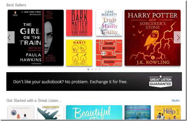 free audible trial