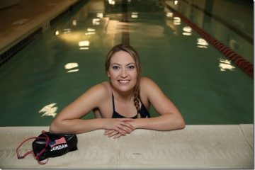 How this Swimmer is Training and Eating for Rio