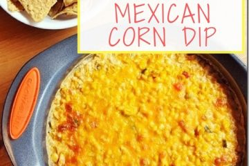 Easy Mexican Corn Dip Recipe