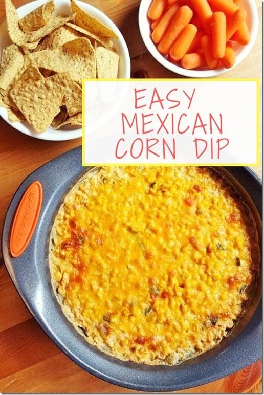 Easy MexicanCorn Dip