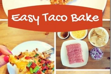 Super Easy Taco Bake